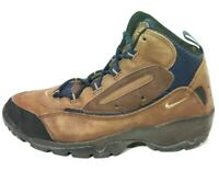 Vintage Nike ACG Mens Tan Mid Outdoor Hiking Running Sneakers Shoes Boots US 8.5