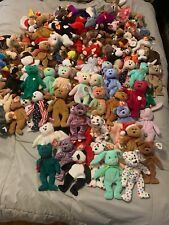 Huge Lot Ty Beanie Babies Over 140 - Peace Other Collectible Ones Tons Here