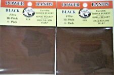 Elk Inc Power Bugle Bands Replacement Bands Black Ultra High Pitch 8 bands 2 pk