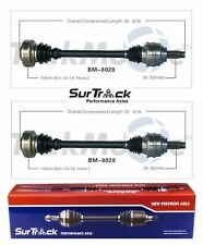 For BMW X5 AWD 01-06 V8 L6 Pair of Rear CV Axle Shafts SurTrack Set