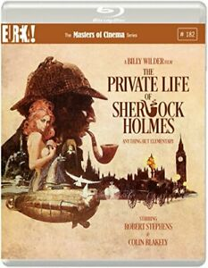 The Private Life of Sherlock Holmes (1970) (Masters of Cinema) Blu-ray [DVD]