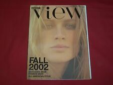 2002 FALL INSIDE VIEW MAGAZINE-PUBLICATION OF MERCEDES-BENZ FASHION WEEK- RC 926