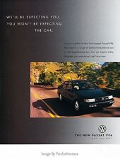 1994 1995 VW Volkswagen Passat -  Original Advertisement Print Art Car Ad J642