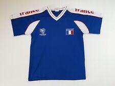 MAILLOT FOOTBALL PORTE WORN SHIRT ANCIEN VINTAGE MAGLIA UEFA EURO 2004 T. ENFANT
