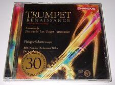 Trumpet Renaissance (CD, 2009, Chandos) Philippe Schartz - new