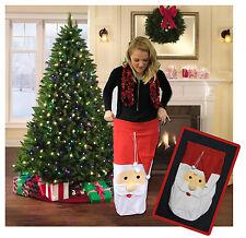 Padre Jumbo Grande Bolsa De Regalo De Navidad Santa Saco Stocking presenta Árbol Navidad Juguete