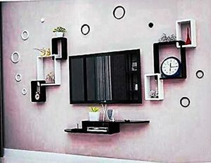 Beautiful TV Entertainment Unit | Wall Mounted Set top Box Stand for Bedroom