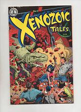 Xenozoic Tales #1 - Dinosaur Cover Kitchen Sink Comix - (Grade 9.2) 1989