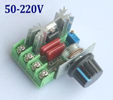PWM Drehzahlregler 2000W, 50-220V/AC, 25A, Motor Speed Controller Deutsche Post