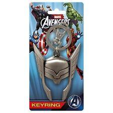 Thor Helmet Avengers Marvel Comics Pewter Key Chain Key Ring