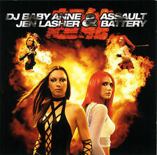 DJ BABY ANNE/Jen Lasher-Assault & Battery-CD-DJ Icey,Wolfsheim,Atomic Hooligan!