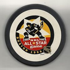 1996 NHL All Star Game Boston Official Puck Trench