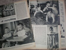 Photo article Coles baby quads Westminster London 1952 My Ref R