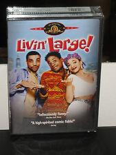"""Livin' Large (DVD) Terrence """"T.C."""" Carson, Lisa Arrindell, Blanche Baker, NEW!"""