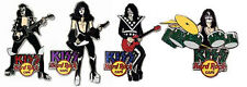 KISS Hard Rock Cafe Pin Group Stun Set LE 100 2006