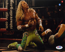 Mickey Rourke SIGNED 8x10 Photo The Wrestler OSCAR NOM PSA/DNA AUTOGRAPHED