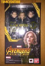 Bandai S.H. Figuarts SHF Infinity War Black Widow Scarlett Johansson Figure New