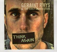 (HT244) Geraint Rhys & The Lost Generation, Think Again - 2015 DJ CD