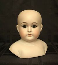 Antique German Bisque Doll Head w/ Sleep Eyes Armand Marseille Mold 2015
