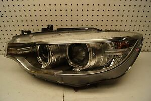 2014 2015 2016 2017 BMW 4 Series 428i 435i Left Side Bi-Xenon Headlight OEM