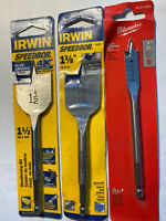 24-Inch by 5//8-Inch Speedbor 1866075 Irwin Tools Max Wood Drilling Bit with Tubed Package
