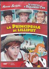 Dvd «LE AVVENTURE DI HUCKLEBERRY FINN ♦ LA PRINCIPESSA DI LILLIPUT»  nuovo 1968
