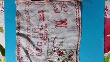 Abécédaire ancien point de croix travail d école @embroidery