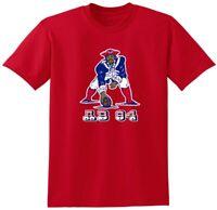 Antonio Brown New England Patriots Old School Logo AB84 T-Shirt