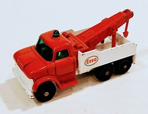 71-C2 EXCELLENT! Esso Heavy Wrecker Lesney Matchbox circa '68