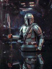 🚨🔥 STAR WARS THE MANDALORIAN MK3 1/6 SCALE BUST Beskar Armor SDCC 2020