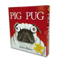 Pig the Pug: Book & Jigsaw Puzzle Inside By Aaron Blabey