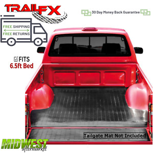"""TrailFX Drop In Rubber Truck Bed Mat For 2004-18 Nissan Titan 6'5"""" Bed Ext/Crew"""