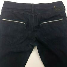 Diesel THANAZ Mens Jeans W36 L30 Dark Blue Slim Fit Skinny Carrot Low Rise Zip