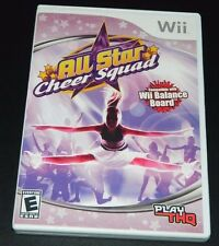 Wii All Star Cheer Squad  COMPLETE (Nintendo Wii, 2008)