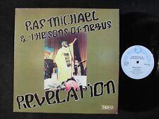 RAS MICHAEL & THE SONS OF NEGUS Revelation TROJAN TRLS-212 UK LP roots reggae