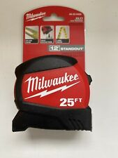 Milwaukee 25 ft. Compact Wide Blade Tape Measure New