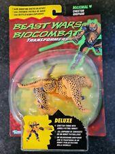 Transformers Beast Wars Biocombat Cheetor, Kenner, 1996 mint on card