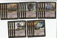 20 Card Atog Creature Lot - Odyssey  - NM/SP - 4x of each - Sets - Magic MTG FTG