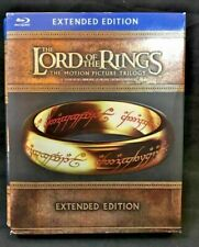 Good Condition- Lord of The Rings Trilogy Extended Limited Edition Blu Ray