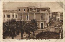 Mollendo Peru c1910 Postcard #2 Entrada a la Plaza
