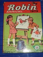 ROBIN ANNUAL 1973 CHILDREN'S BOOK CHILD'S BOOK