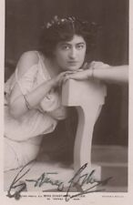 *GREAT STAGE & FILM ACTRESS CONSTANCE COLLIER 1907 AUTOGRAPHED PHOTO*
