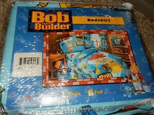 NWT Disney BOB THE BUILDER Can We Fix It Twin/Single BED SKIRT {Vintage Fabric}