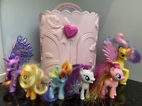 My Little Pony Musical Wardrobe Playset Hasbro 2007 + 6 Ponies