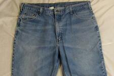 Carhartt B17 DST Faded Color Denim Work Jeans Tag 42x30 Measure 40x30