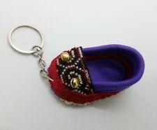Shoes Handmade fabric keyring Diy Sewing charm cute Fashion keychain gifts