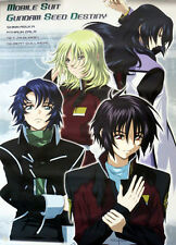 Gundam Seed Destiny Group Paper Poster Anime MINT