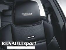 5x Renault Sport Aufkleber für Ledersitze Logo Simbol Clio Megane