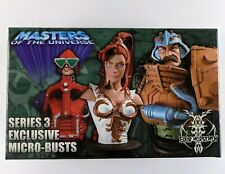 NECA Masters of the Universe 2006 Series 3 Micro Busts Set 976/2500