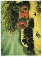 I capolavori della pittura - div.7 01-19 De chirico - natura morta con uva